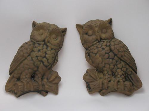 Owl plaques
