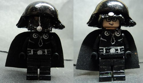 Darth Helmet custom minifig