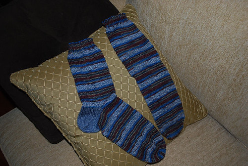 big foot socks finished