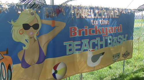 Brickyard Beach Bash Poster