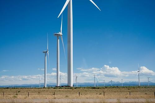 Windmills in Wyoming