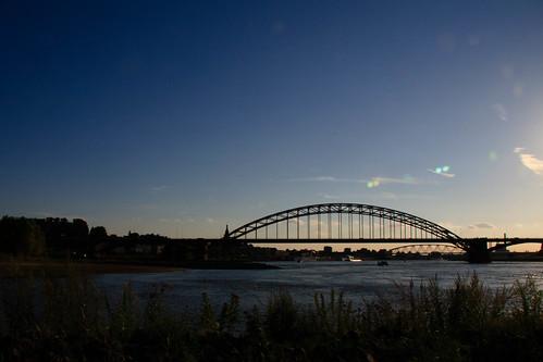 De skyline van Nijmegen