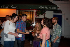 Cake deployed (mrlerone) Tags: birthday cake pub celebration booze charleslamb