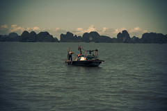 Cruising over Halong Bay