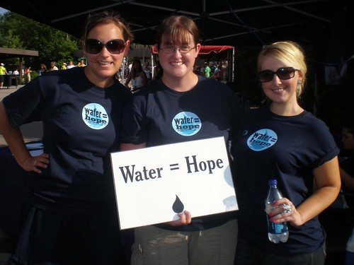 Water = Hope volunteers