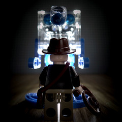 Indiana Jones & The Nose Of The Ice-Bot (r ) Tags: lego indianajones crystalskull icebot