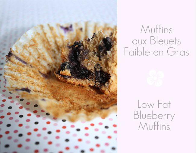 Muffins Bleuets L Fat - 650