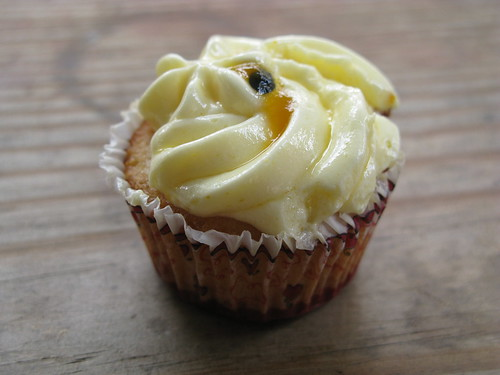 Hester Fair's Passionfruit French Buttercream Cupcake