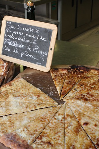 tarte au sucre, Pérouges