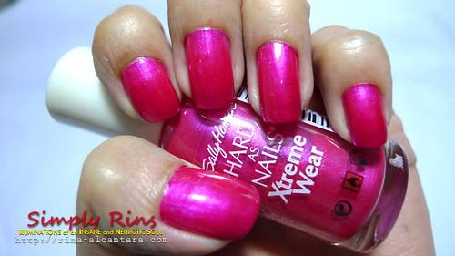 Nail Art Hot Magenta 01