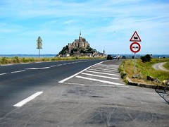 Mont Saint-Michel (Adam Kuban) Tags: france honeymoon hiking normandy montsaintmichel saltmeadows hikeday3 sentiersdefrance
