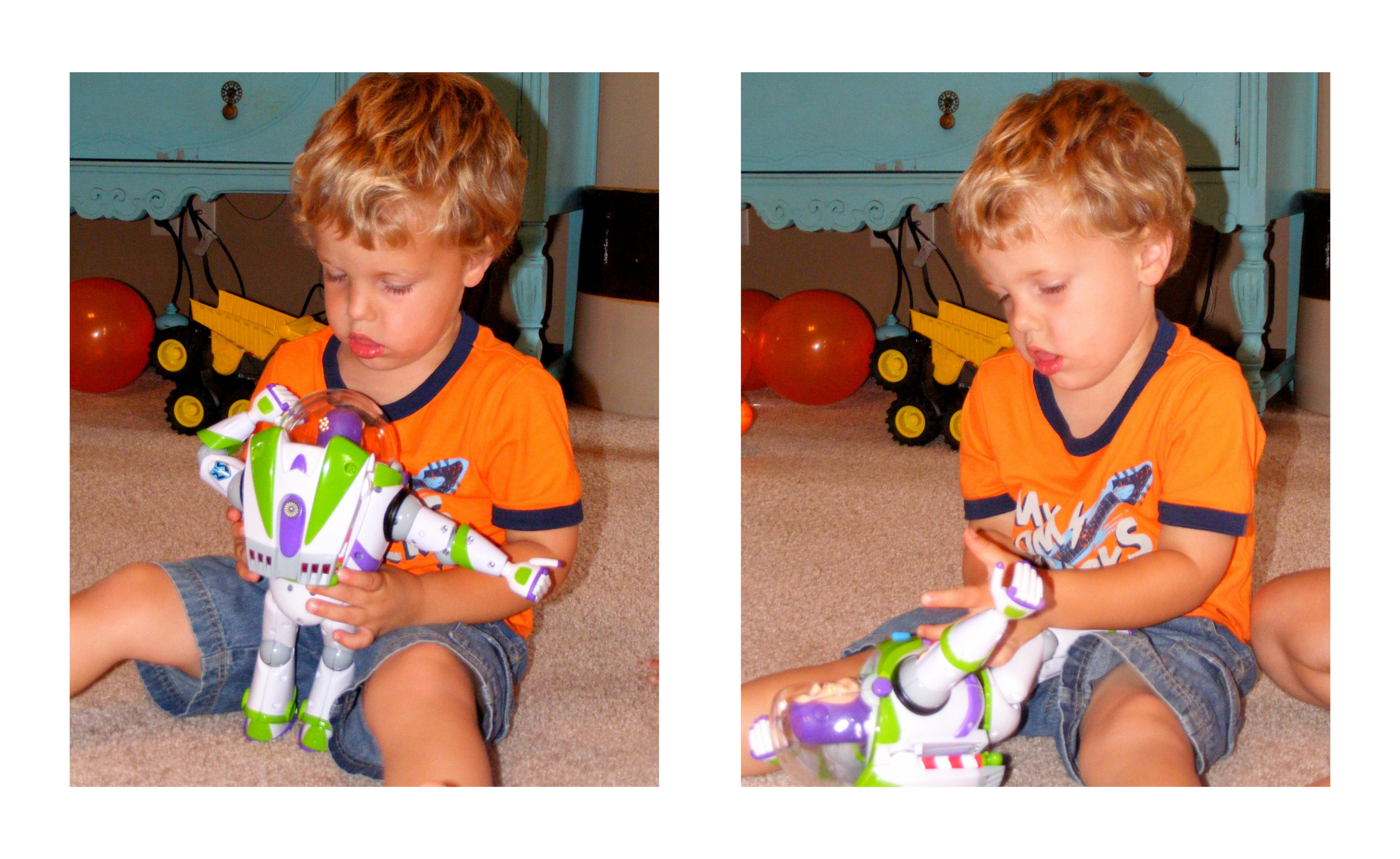 Buzz Lightyear collage