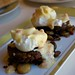 Homemade Elk Sausage served with Marble Hash, Poached Eggs and Choron Sauce