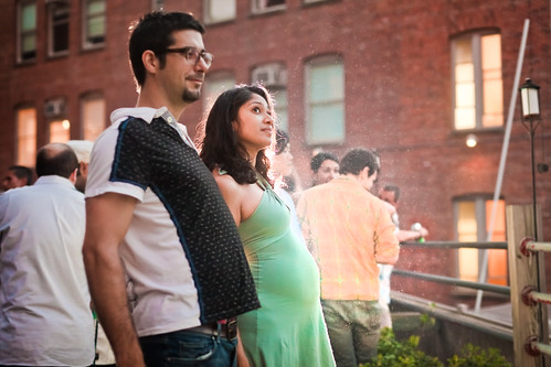 expecting (sgoralnick) Tags: party brian bbq pregnant ps1 backlit suzette