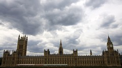 Houses of Parliament (pablo808) Tags: england sky london westminster architecture clouds canon unitedkingdom politics gothic housesofparliament parliament bigben clocktower government 1840 whitehall worldheritage palaceofwestminster unseco charlesbarry 50d efs1755mmf28isusm augustuswnpugin