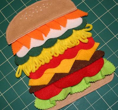 burger chore chart
