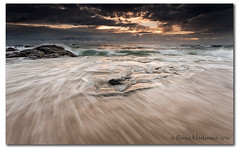 Swash!! (danishpm) Tags: ocean seascape beach rock clouds sunrise canon australia wideangle nsw aussie aus 1020mm manfrotto sigmalens supershot eos450d 450d mywinners platinumphoto kingcliff sorenmartensen tweedarea hitechgradfilters 09ndreversegrad