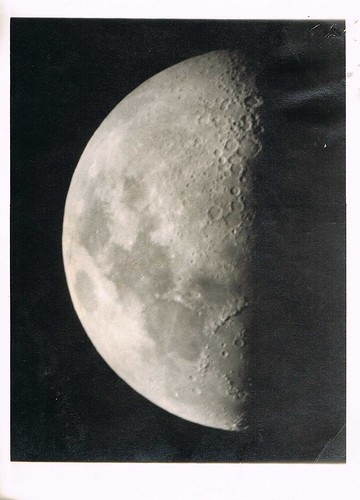 photo of the moon, c. 1967