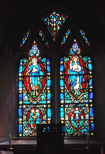 Windows of Bosley Chapel