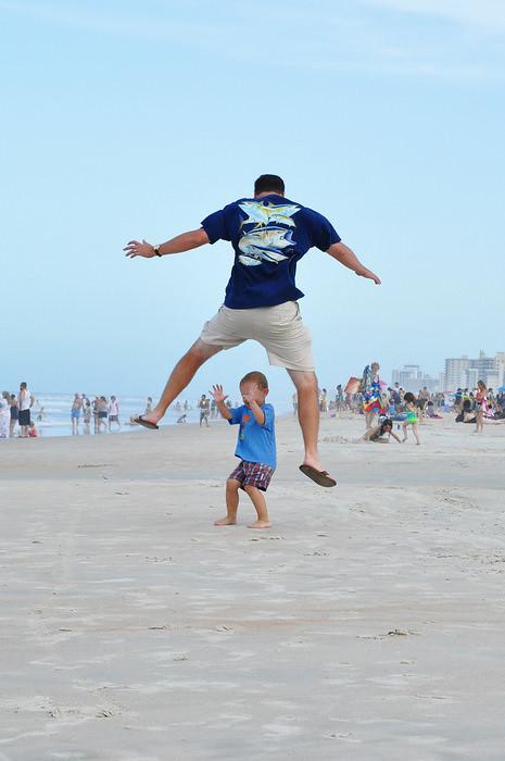 b jumping