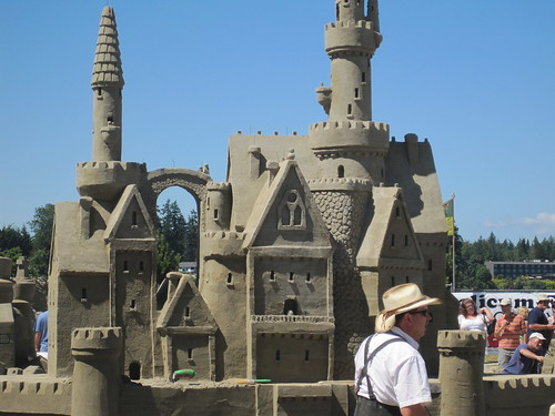 Canadian Open Sand Sculpting Competition (ParksvilleFest) 2010
