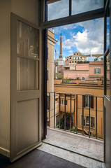 View from the balcony. Rome, Italy (Paolo Margari) Tags: old windows sky urban italy rome roma window architecture canon photography photo office italia foto photographer roman balcony photographers romano cielo fotografia canoneos rom architettura hdr italie sede offices urbanlandscape fotografo fotografi balcone fromthebalcony uffici britishcouncil ielts paesaggiourbano italianphotographers paolomargari bellitalia w5s vistadalbalcone fotoleggendo fotografiitaliani britishcouncilitalia fotoleggendo2010romamor fotoleggendo2010 britishcouncilitaly woodstock5stelle
