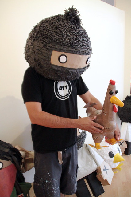 Zapatistas and Chickens are one.