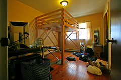 The New Place (stormdog42) Tags: chicago home moving illinois apartment personal interior room rogerspark loftbed