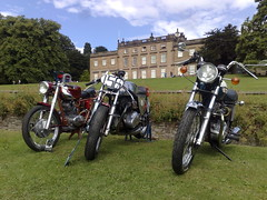 Cannon Hall Car Motorcycle Rally Barnsley Yorkshire (woodytyke) Tags: cannon hall car motorcycle rally barnsley exhaust yorkshire restored vintage classic vehicle touring south visitor tourism england district british britain english stately home house woodytyke rotary club event wheel motor 2010 uk stanhope family john chrome black headlights carr york transport fund raising park cawthorne west riding display attraction enthusiast bike motorbike ha front united kingdom isles stephen woodcock photo photograph camera foto photography best picture composition digital phone colour