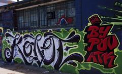 Graff  117 (Anarchivist Digital Photography) Tags: graffiti murals alleys denvercolorado kovet