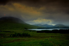 ancient hills (Deborah Valentin) Tags: mountains clouds scotland aqua hiking grand journey lochetive endlessbeauty nicolasvalentin deborahstalter