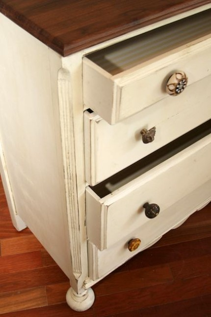 Distressed Antique Dresser, eclectic  - Free delivery in Austin, Texas and surrounding areas-2