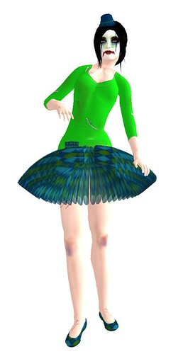 .::ODB::. Carnie Girl Green For Addiction Hunt