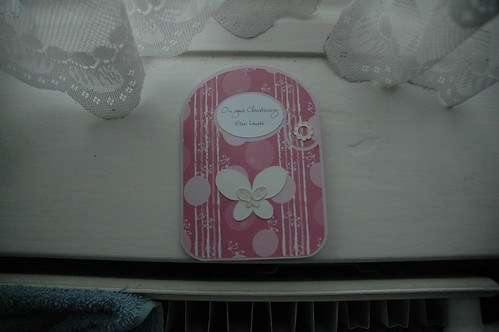 Erin's Christening card