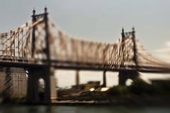 the Queensboro Bridge, New York City (mudpig) Tags: nyc newyorkcity bridge newyork skyline lensbaby geotagged cityscape eastriver gothamist span queensborobridge rooseveltisland hdr 59thstreetbridge mudpig stevekelley