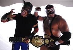ltimo Gladiador y Silver King (Daniela Herreras) Tags: silver king luchalibre lucha libre aaa ltimo gladiador maniacos ltimogladiador silverkking