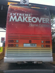 Extreme Makeover Tour Bus