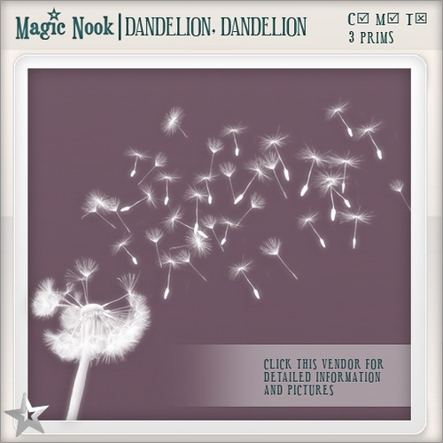 [MAGIC NOOK] Dandelion, Dandelion