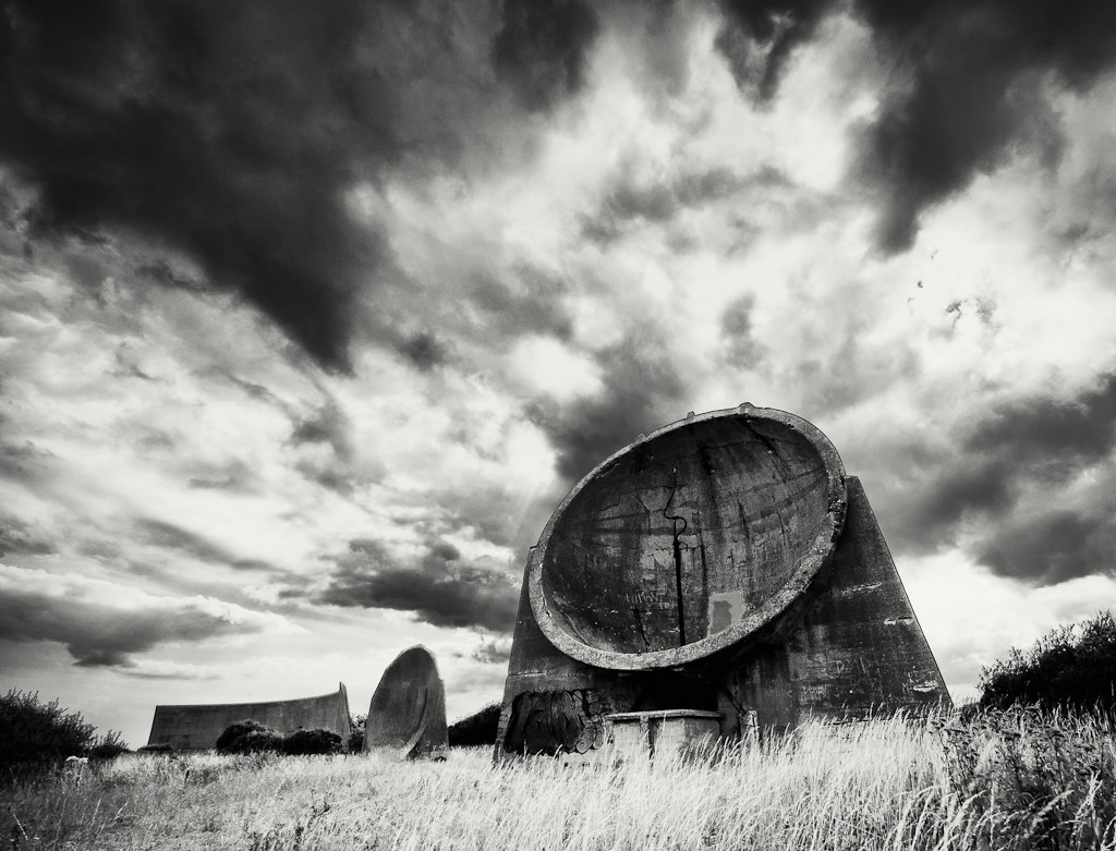 Day 220 365/2010 - Sound Mirrors - Dungeness