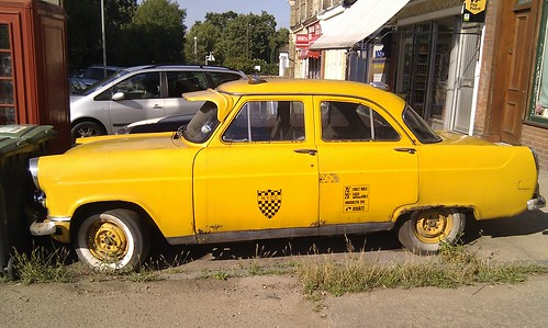 Ancient Brooklyn taxi, Wood Vale, SE23