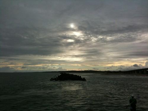 浜名湖から海へ