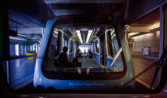 AirTrain (isayx3) Tags: sanfrancisco people subway airport nikon bart sigma wideangle airtrain studios f28 d3 14mm bayarearapidtransit plainjoe isayx3 plainjoephotoblogcom
