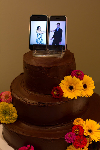 iPhone cake topper by Randy Stewart