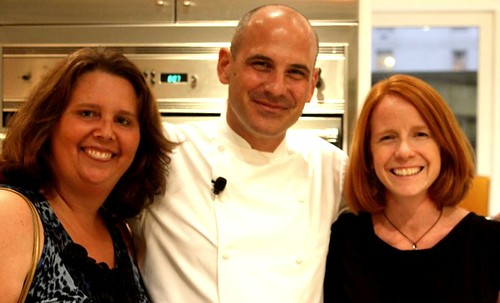 chef scott, janine and me