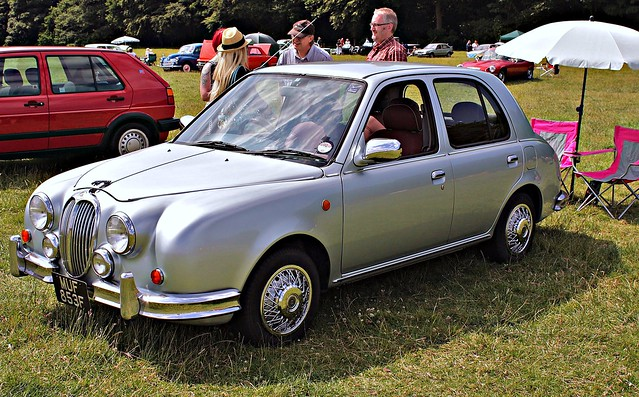 The Mitsuoka Viewt is a modification of the Nissan Micra,