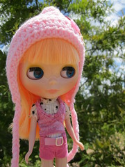 Elsie at the park.