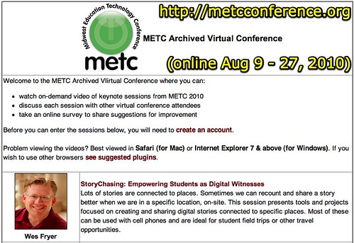 METC 2010: Virtual Conference