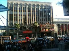 Toy Story 3 on the Phone (youngrobv) Tags: california usa apple america la losangeles phonepic unitedstatesofamerica disney hollywood pixar rv elcapitan 3gs iphone hollywoodboulevard 1008 robale toystory3 youngrobv