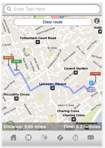 London Cycle : Maps and Routes