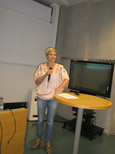 Pernille Drost, President of the Danish Union of Librarians